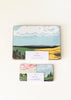 Snowdenflood.com rural landscape cloudspotters placemat and coasters