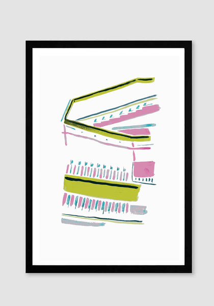 Coventry 1 - Art Print - Snowden Flood Oxo Tower Shop www.snowdenflood.com