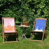 Battersea Power Station & St.Pauls Deck Chair www.snowdenflood.com