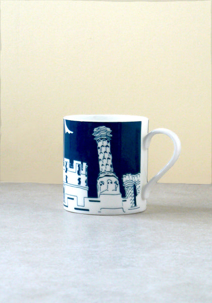 Hampton Court Palace Chimneys mug Snowden Flood www.snowdenflood.com