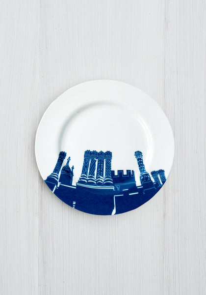 Hampton Court Palace Chimneys Side Plate