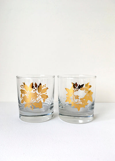 Holly & Ivy Glasses Set