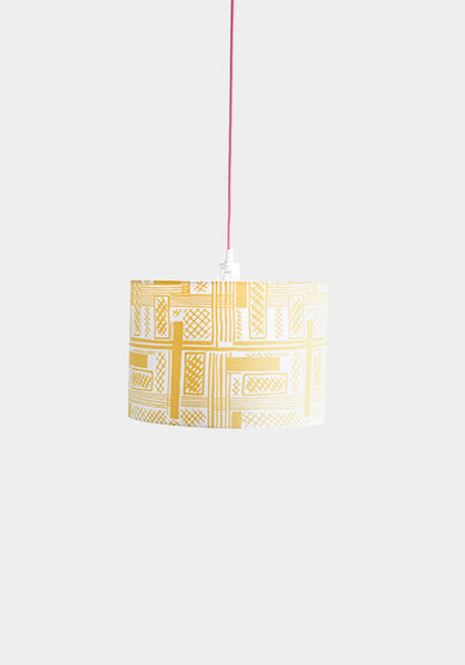 Ira Yellow Lampshade - Snowden Flood Shop - www.snowdenflood.com