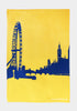 London Eye Tea Towel - Snowden Flood Oxo Tower - www.snowdenflood.com