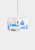 Natural/Blue London Landmarks Lampshade - Snowden Flood Shop - www.snowdenflood.com