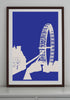 London Eye Art Print - various sizes