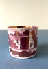 A 19th Century pink lustreware coffee can Snowden Flood Antiques www.snowdenflood.com