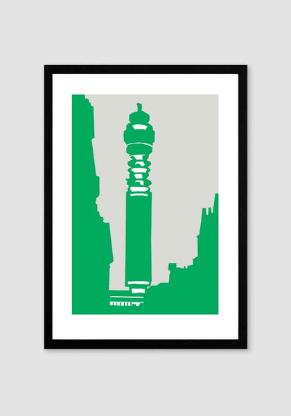 Post Office Tower A4 Print