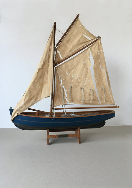 A 1940s handmade model boat Snowden Flood Antiques www.snowdenflood.com