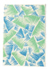 Snowden Flood Rae Mint/Aqua cushion