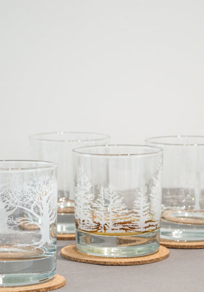 White Tree Glasses - Snowden Flood Shop - www.snowdenflood.com