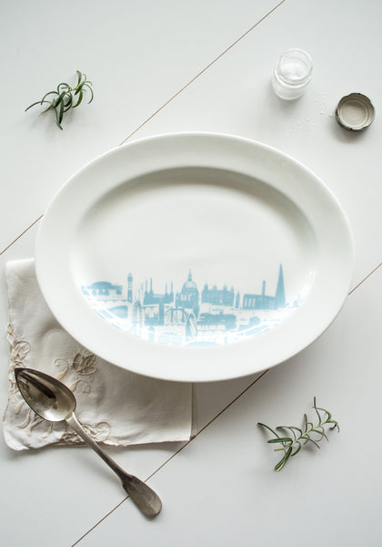 London Landmark Serving Platter - Snowden Flood Shop - www.snowdenflood.com