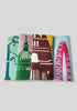 A Set of 4 London Landmarks Napkins - Snowden Flood Shop - www.snowdenflood.com