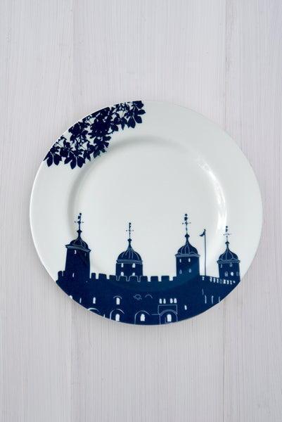 Tower of London Dinner Plate