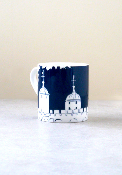 Tower of London mug Snowden Flood www.snowdenflood.com