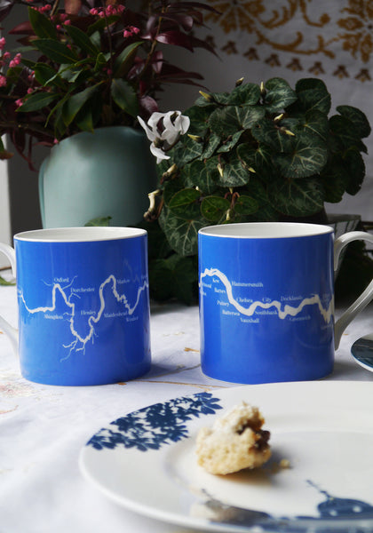 A large River Thames mug (or a set of 6 with a discount!)
