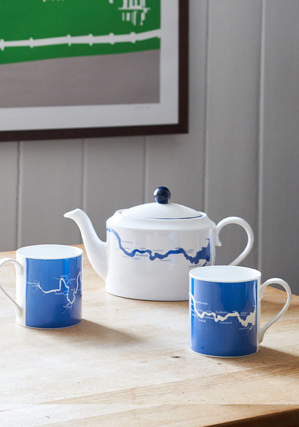 Snowden Flood Thames River Mugs Thames tea pot www.snowdenflood.com