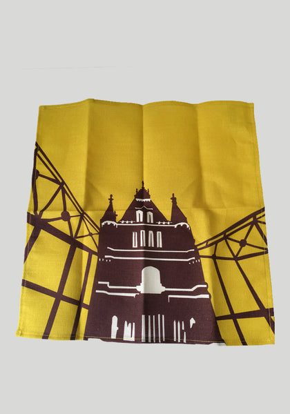 Tower Bridge Napkin - Snowden Flood Oxo Shop - www.snowdenflood.com