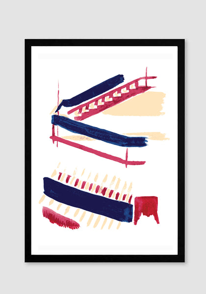 Train Station 2 Art Print - Snowden Flood Oxo Tower Shop www.snowdenflood.com