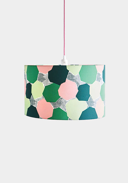 Valmier Green Lampshade