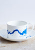 Thames Tea set in Blue - Snowden Flood