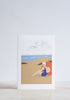 Beach Lady Greeting Card - Snowden Flood shop