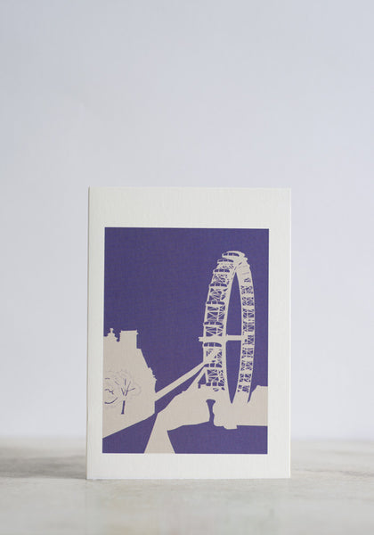 London Eye Greeting Card  - Snowden Flood shop