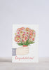 Congratulations Flower Bunch Greeting Card