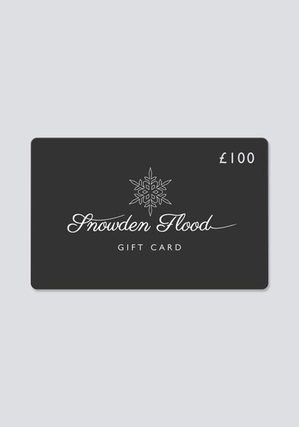 Snowden Flood Gift Card £100 - Snowden Flood shop