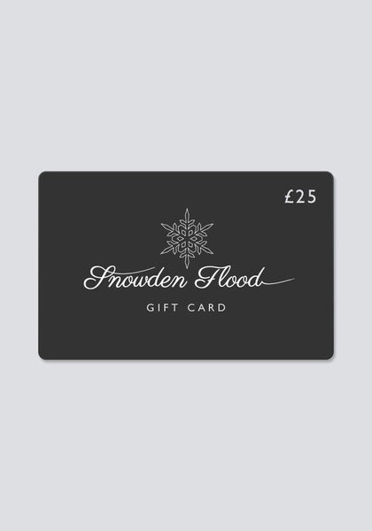 Snowden Flood Gift Card £25 - Snowden Flood shop