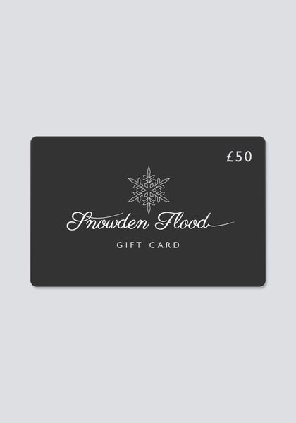 Snowden Flood Gift Card £50 - Snowden flood shop