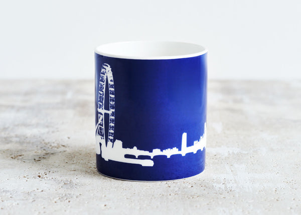 London Eye mug Blue - Snowden Flood Shop