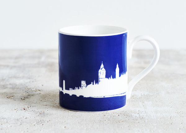 London Eye mug Blue - Snowden Flood  www.snowdenflood.com