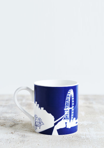 London Eye Mug Navy Blue