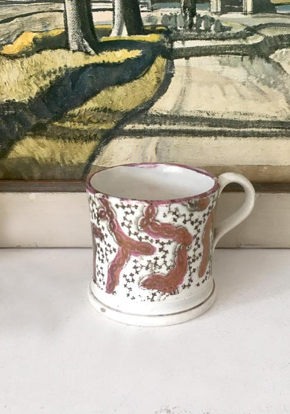 18th or early 19th Century bronze lustre coffee can www.snowdenflood.com