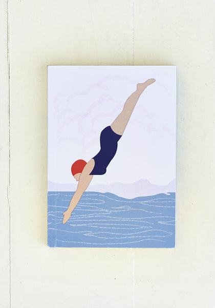 Diving Lady A6 Notebook