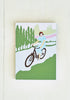 Cycling Lady a6 notebook - Snowden Flood shop