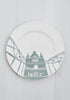 Tower Bridge Dinner Plate - Snowden Flood