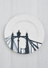 Snowden Flood River Series London Landmark Albert Bridge Dinner Plate www.snowdenflood.com