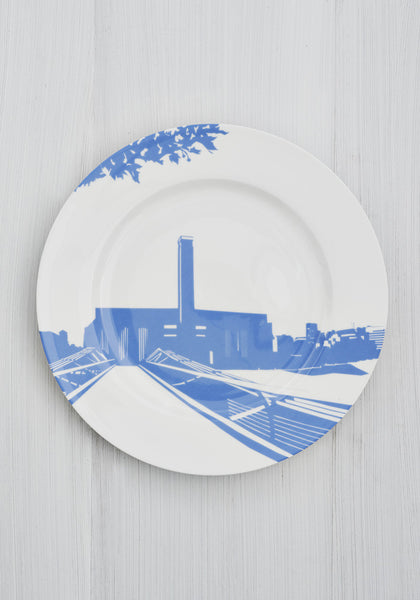 Snowden Flood River Series London Landmark Tate Modern Dinner Plate www.snowdenflood.com