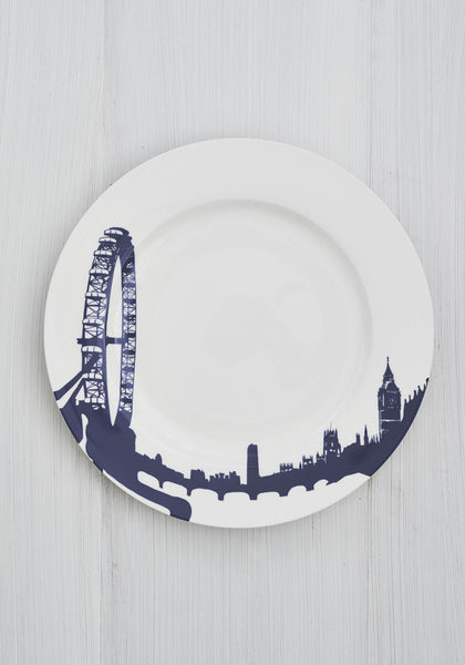 Snowden Flood River Series London Landmark London Eye Dinner Plate www.snowdenflood.com