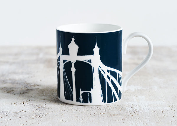 Albert Bridge Mug - Snowden Flood  www.snowdenflood.com