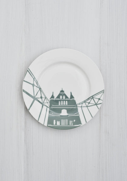 Tower Bridge Side Plate - Snowden Flood Shop