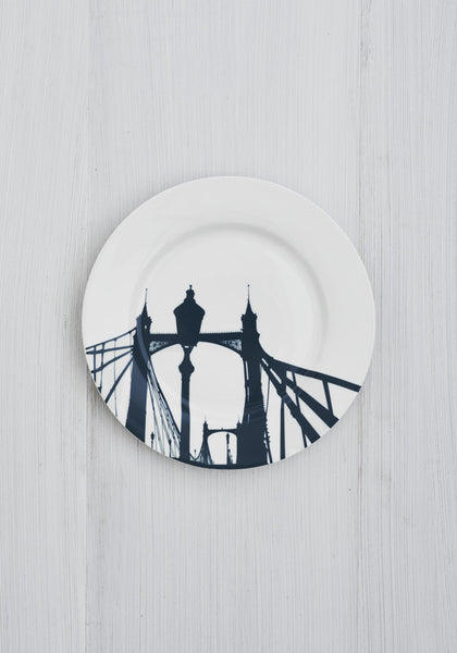 Albert Bridge Side Plate - Snowden Flood Shop