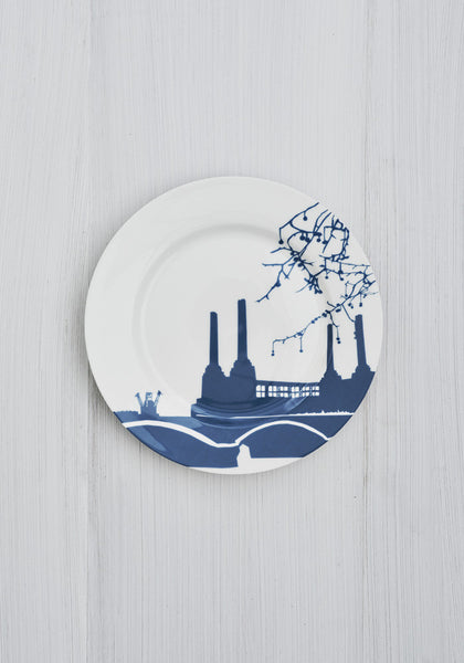 Battersea Power Station Side Plate - Snowden Flood Shop