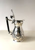 An Aesthetic Movement Silver Plated Water jug with Bakelite handle Snowden Flood Antiques www.snowdenflood.com