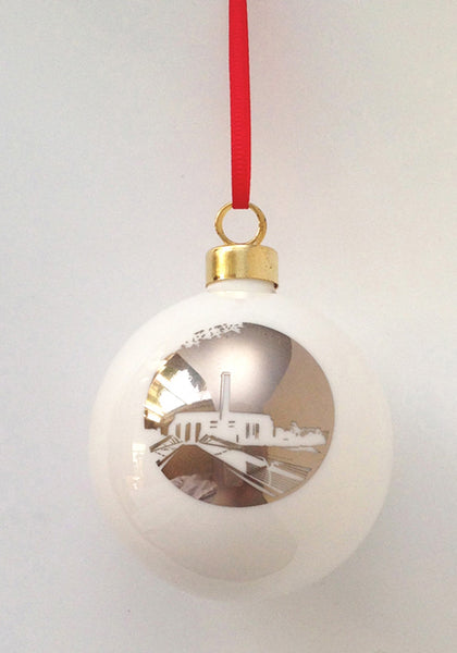 Tate Modern Bone China London Landmark bauble