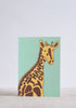 Thank You Giraffe Greeting Card