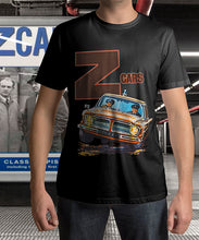 Load image into Gallery viewer, Z-Cars Police Car Logo Unisex Tee