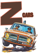 Load image into Gallery viewer, Z-Cars Retro Style Cartoon Logo Tee - Unisex Fit